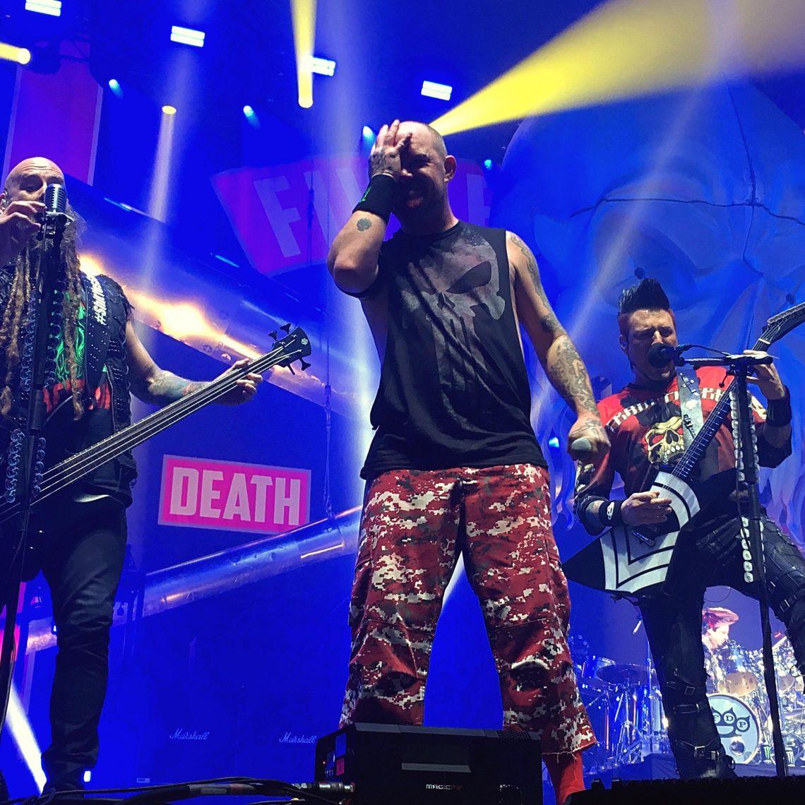 Five Finger Death Punch- SSE Arena, London (21/12/2017)