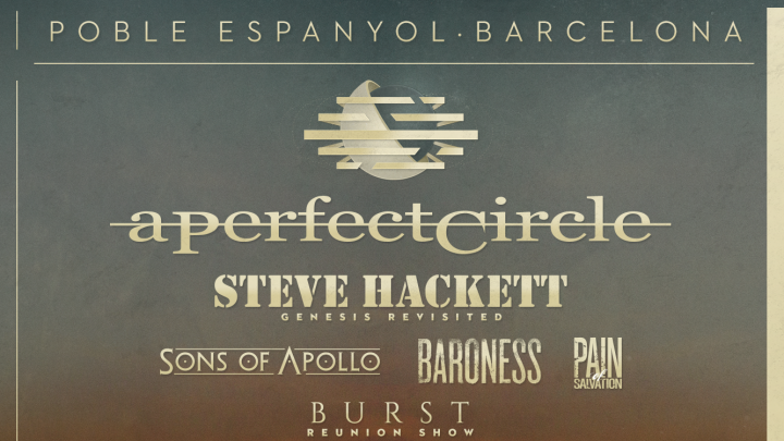 Steve Hackett to headline the Saturday of Be Prog! My Friend 2018 / Burst to reform at the festival