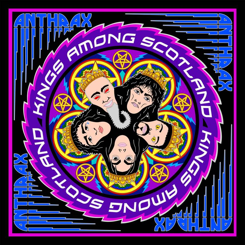 ANTHRAX live DVD 'Kings Among Scotland' announced for April 2018 release!