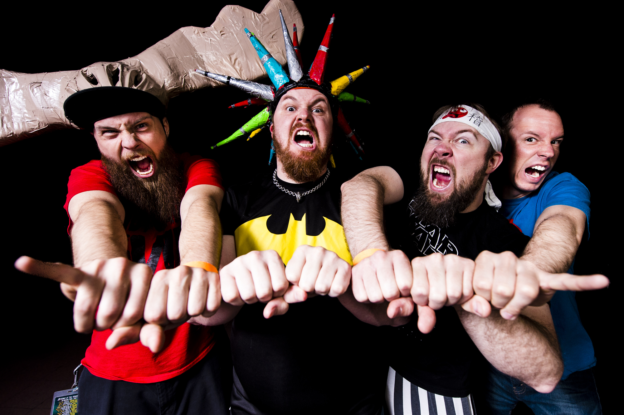 The Kings of Comedy Rock PSYCHOSTICK Confirmed To Play UK's 2018 Amplified Fest
