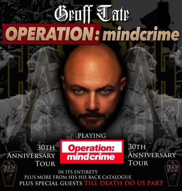 Geoff Tate's Operation Mindcrime – 15/1/18 – The Garage , Islington , London
