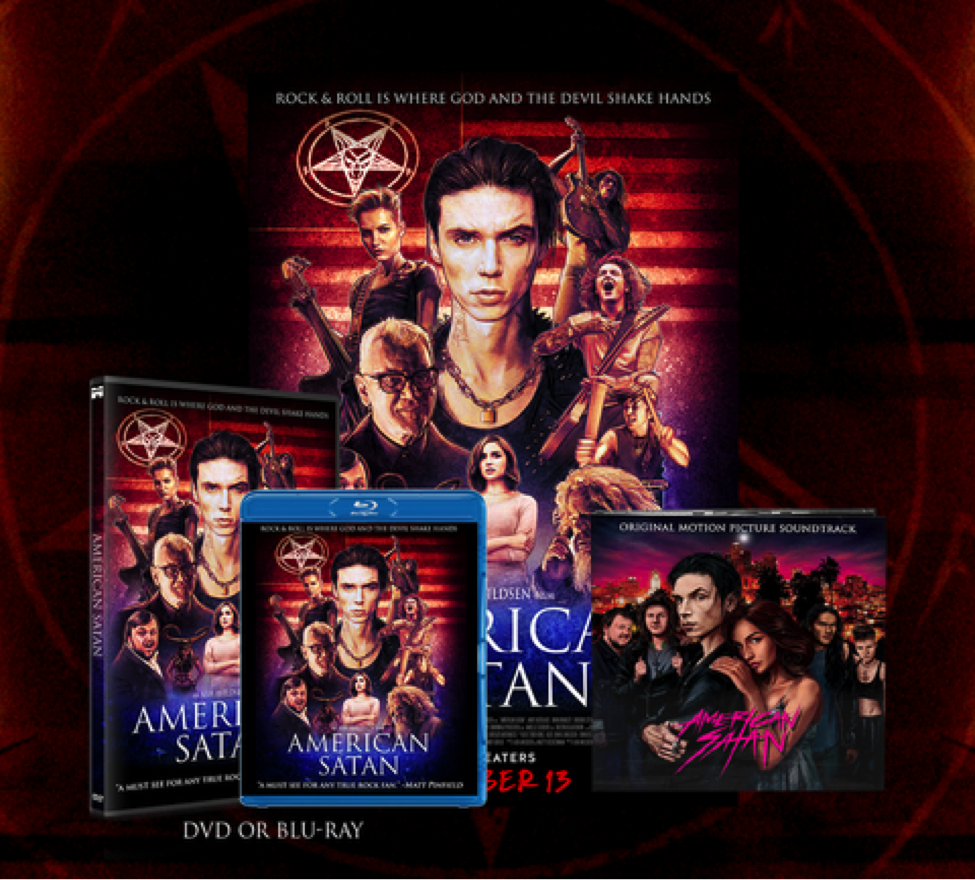 AMERICAN SATAN (Sumerian Films) – Available to buy now on DVD/Blu-ray/Digital worldwide