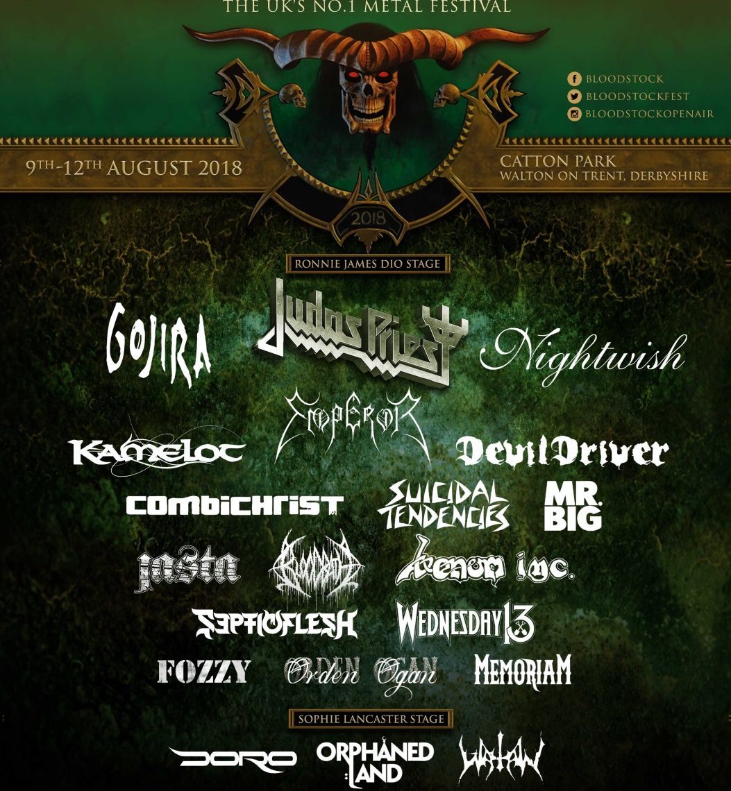 NEW YEAR, NEW BANDS FOR BLOODSTOCK 2018