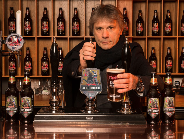 Iron Maiden and Help For Heroes launch new beer Light Brigade with Robinsons brewery