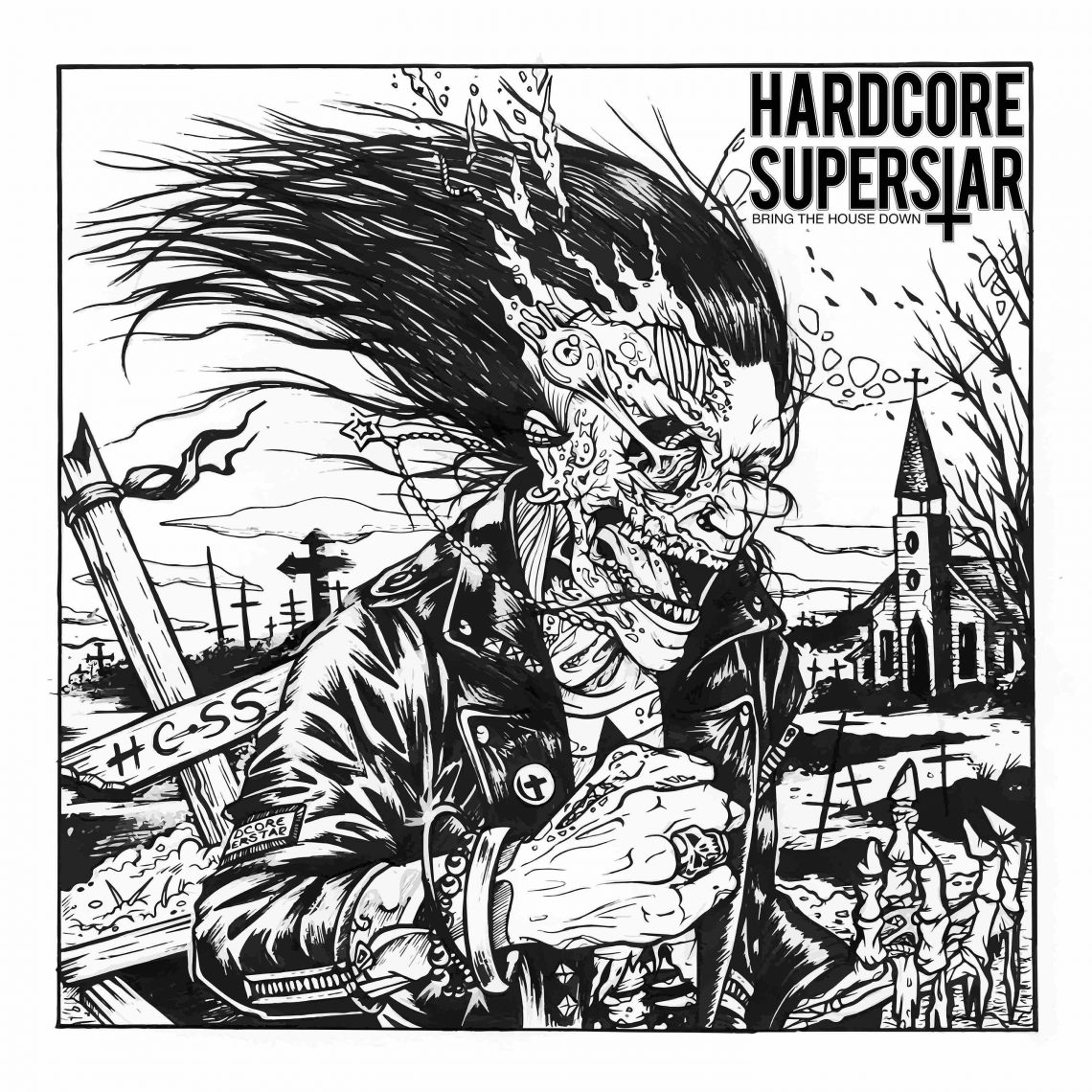 """HARDCORE SUPERSTAR NEW SINGLE: """"BRING THE HOUSE DOWN"""" RELEASE DATE: 23RD FEBRUARY 2018"""
