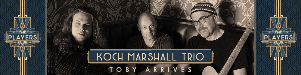 The Koch Marshall Trio Release New Track 'Sin Repent Repeat' + Debut Album 'Toby Arrives' out now!
