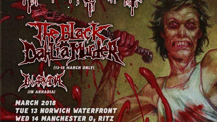 Cannibal Corpse- Kentish Town Forum (18/03/18)