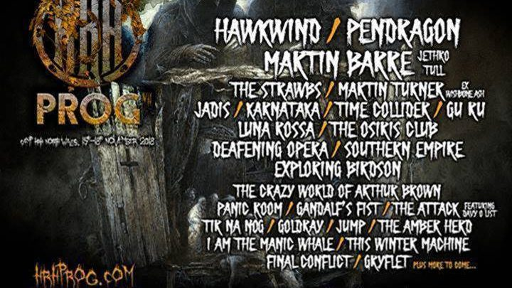 HRH PROG VII ADDS JETHRO TULL'S MARTIN BARRE AND  MORE AMAZING BANDS TO ITS ALREADY AWESOME LINE-UP!