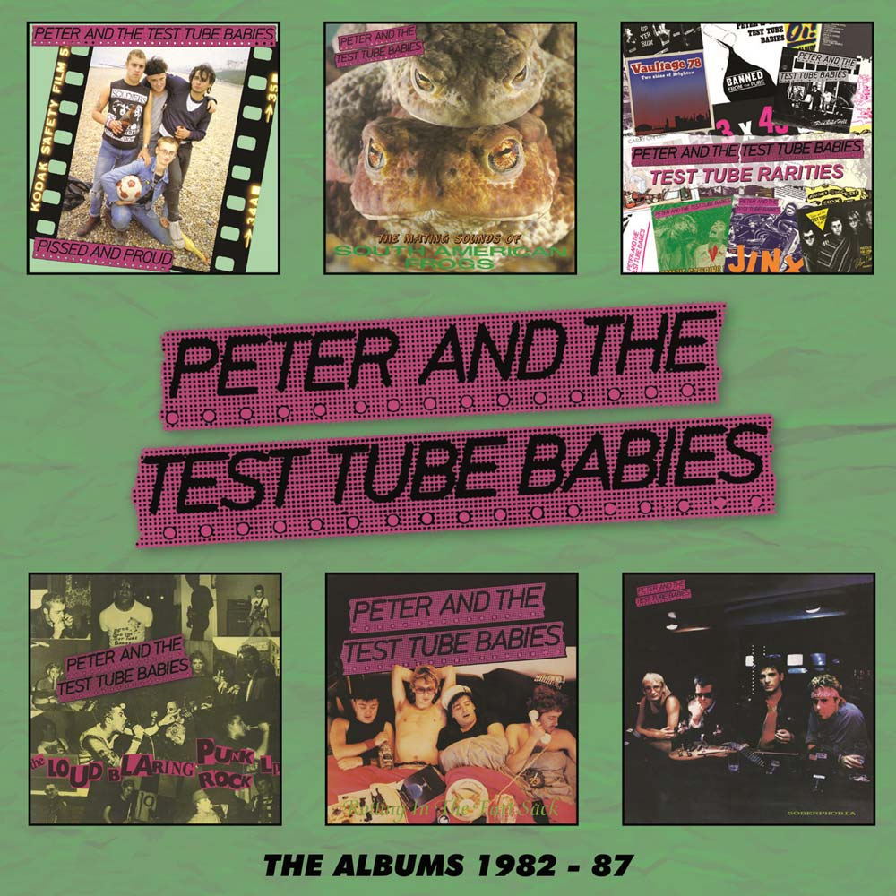 PETER & THE TEST TUBE BABIES: THE ALBUMS 1982-87 (6CD BOX SET)