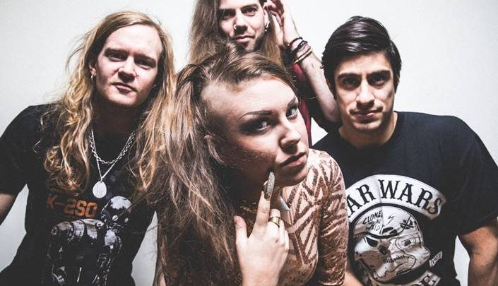 QFT (featuring former Therion singer Linnea Vikstrom) release new single 'End of the Universe'