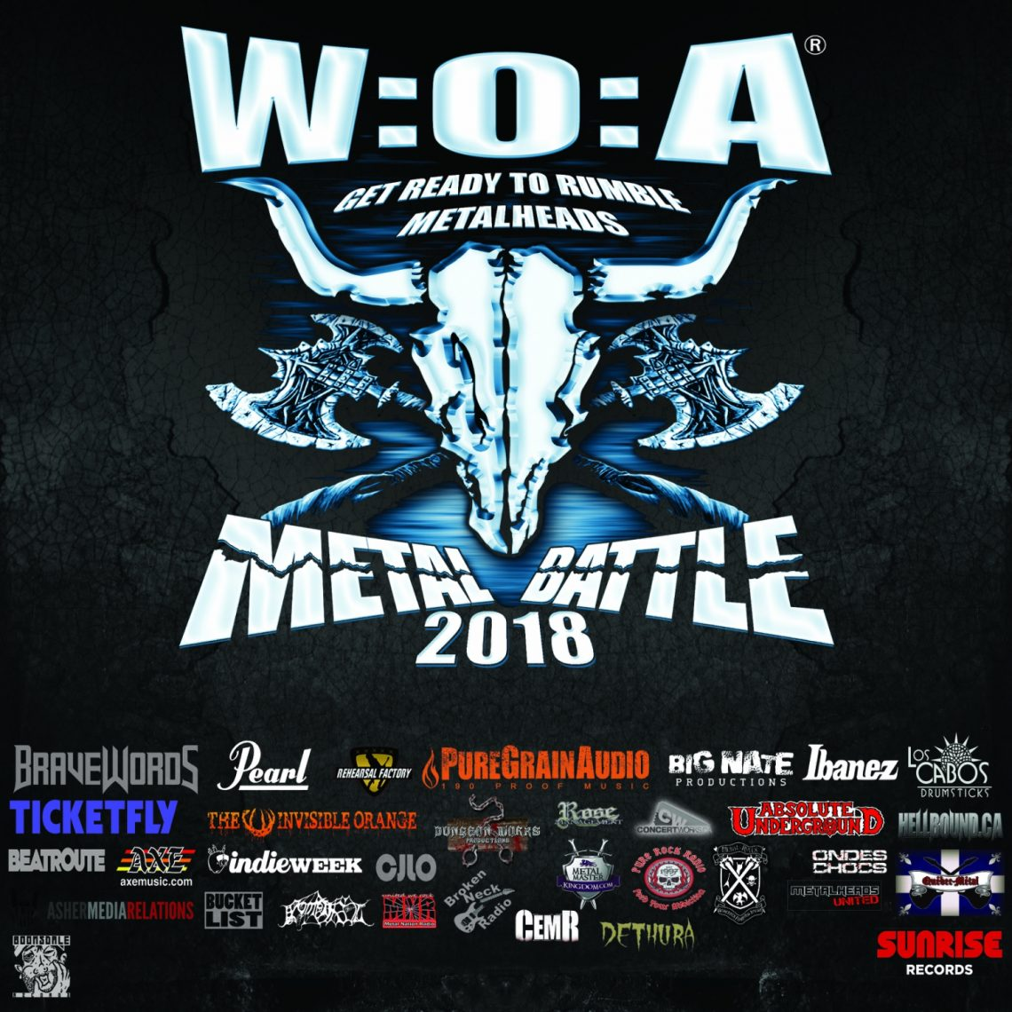 Wacken Metal Battle Canada Unleash Free Digital Sampler of 2018 Competing Bands