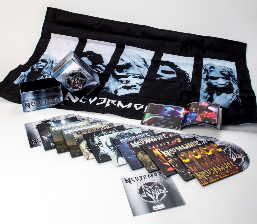 "NEVERMORE Announce ""The Complete Collection"" Release Date and Vinyl Reissues"