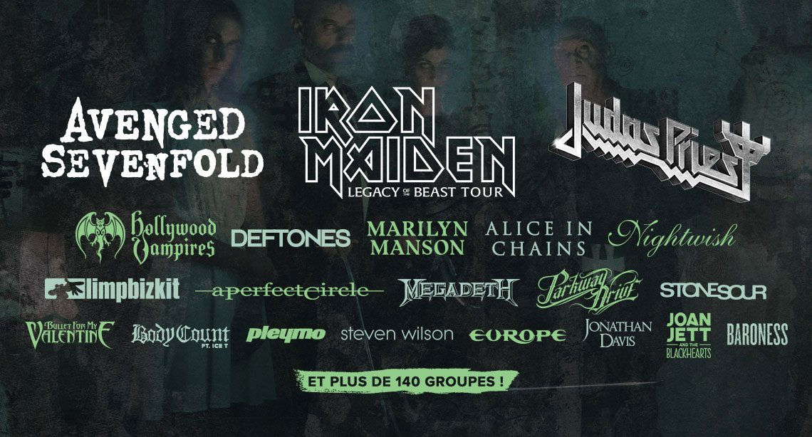 Hellfest 22nd – 24th June 2018
