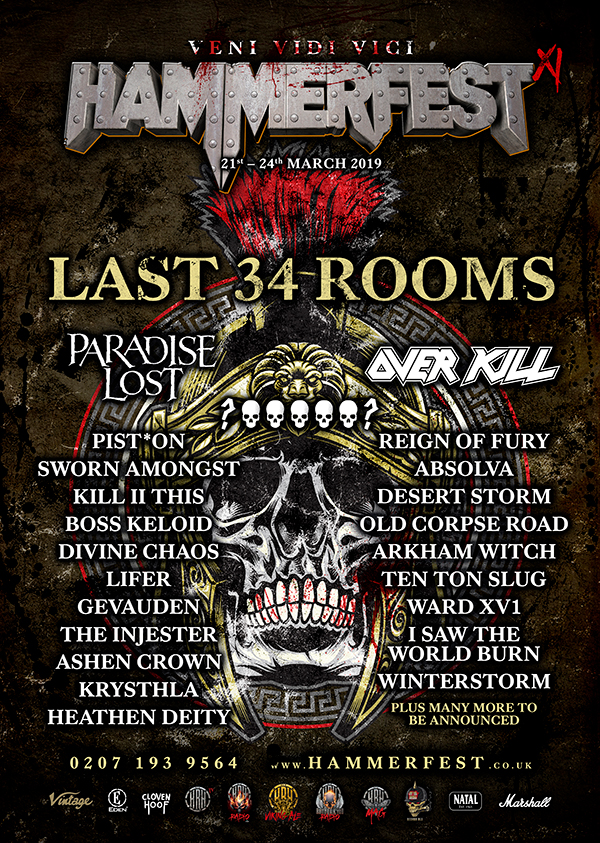 HAMMERFEST XI HERALDS ITS FIRST WAVE OF METAL ACTS