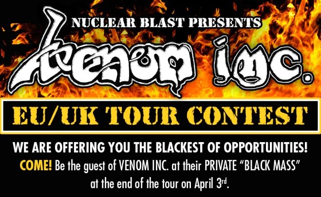 VENOM INC. launch one-of-a-kind tour competition!
