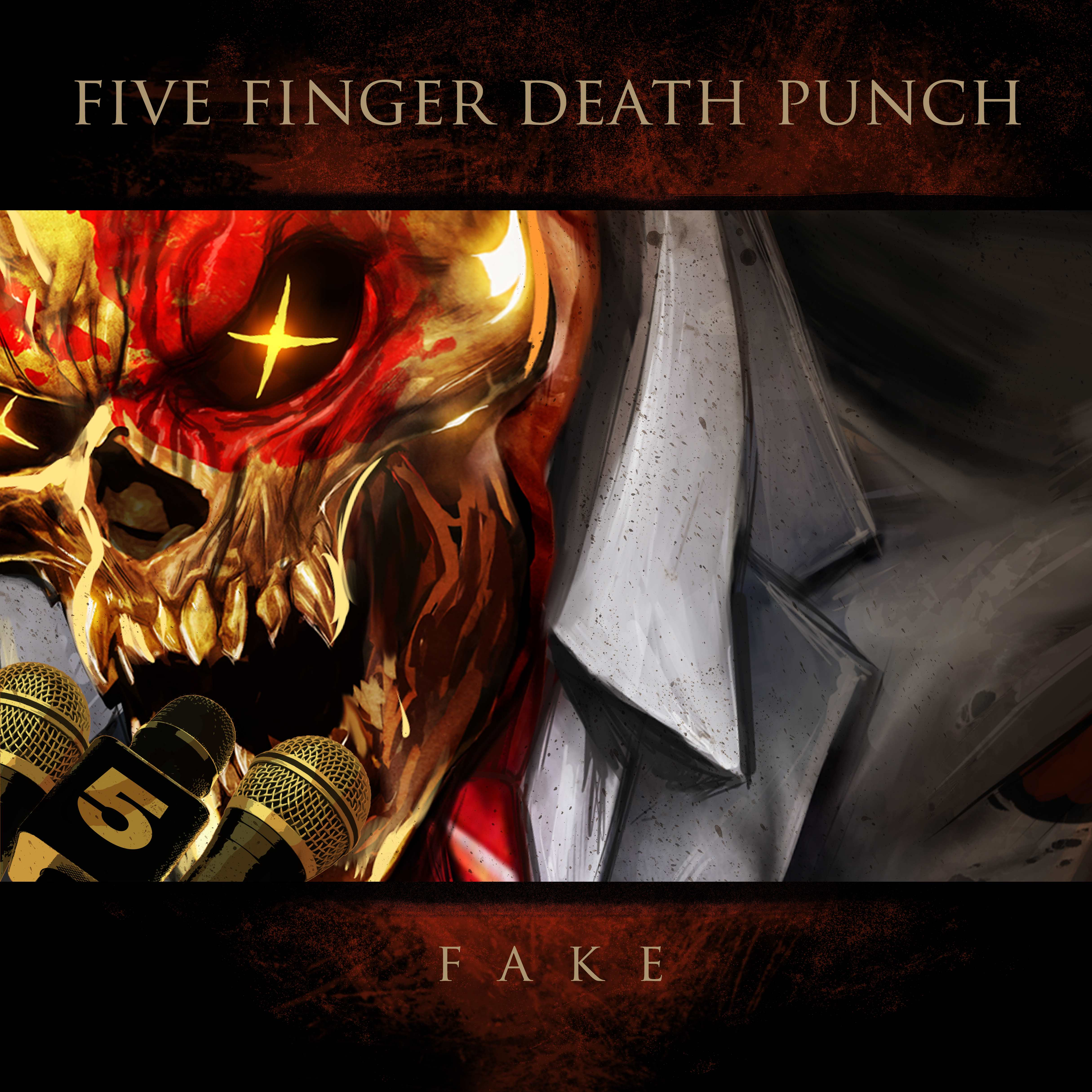 FIVE FINGER DEATH PUNCH reveal brand new song, Fake