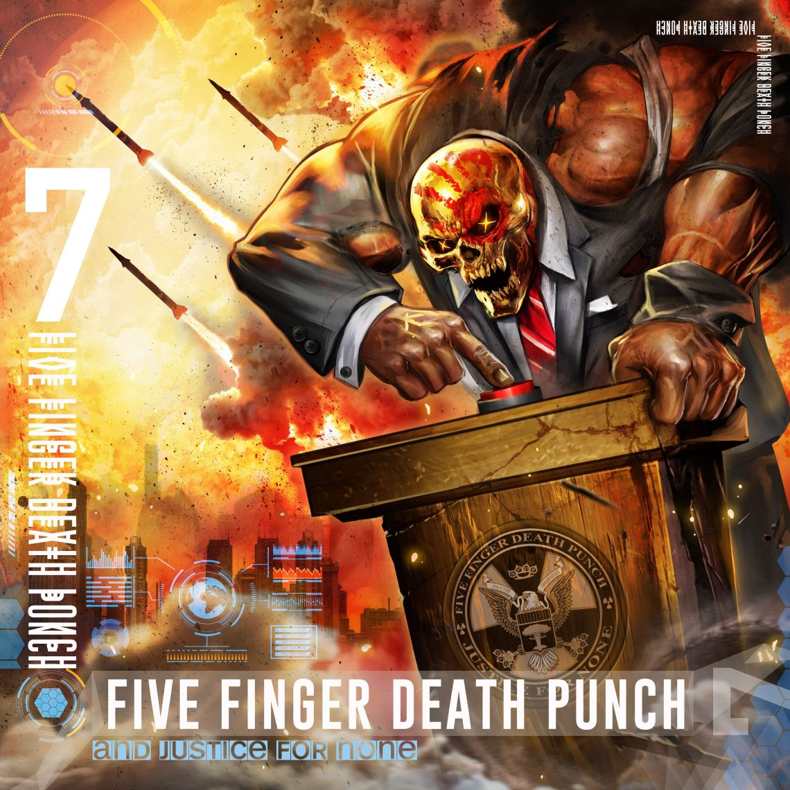 FIVE FINGER DEATH PUNCH reveal video for 'When The Seasons Change'