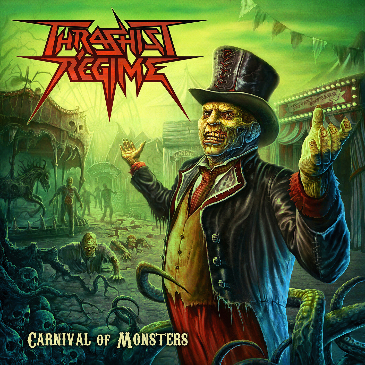 Thrashist Regime – Carnival of Monsters