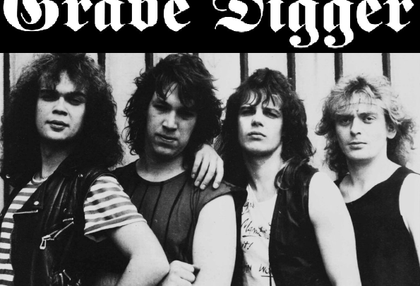 Noise proudly reissue GRAVE DIGGER 💀 two classic albums on colour vinyl & deluxe CD 💥