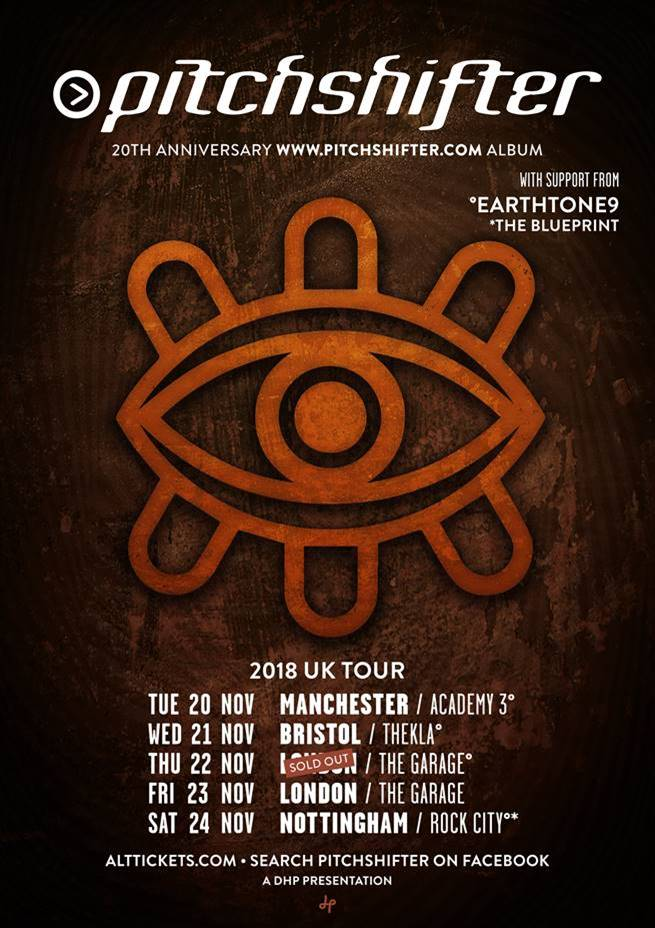 PITCHSHIFTER ANNOUNCE TOUR SUPPORT (COMPETITION WINNERS)