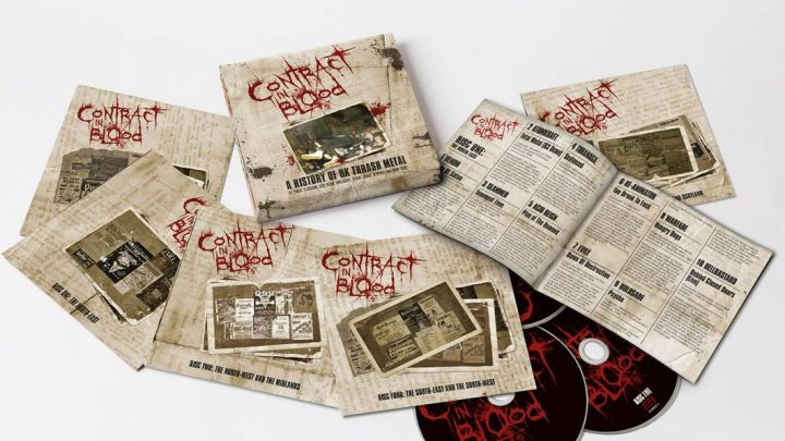Contract In Blood: A History of UK Thrash Metal, 5 CD Boxset – Review