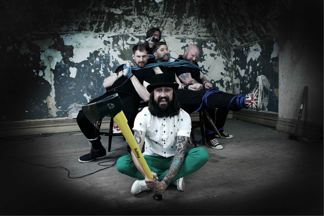 "Massive Wagons – New Single ""Billy Balloon Head"" And Album Pre-Order"