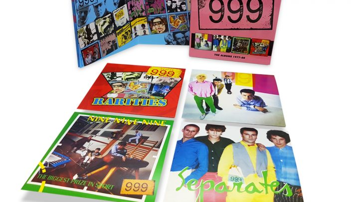 999: THE ALBUMS 1977 – 80, 4CD CLAMSHELL BOXSET