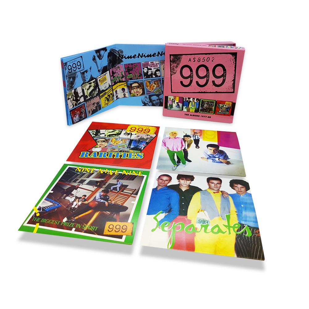 999: THE ALBUMS 1977 – 80, 4CD CLAMSHELL BOXSET