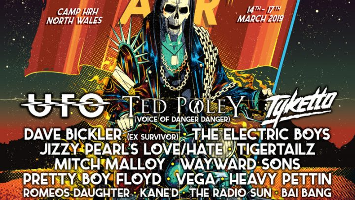 HRH AOR VII ADDS 15 MORE ACTS TO ITS SOLD-OUT CELEBRATION OF AOR