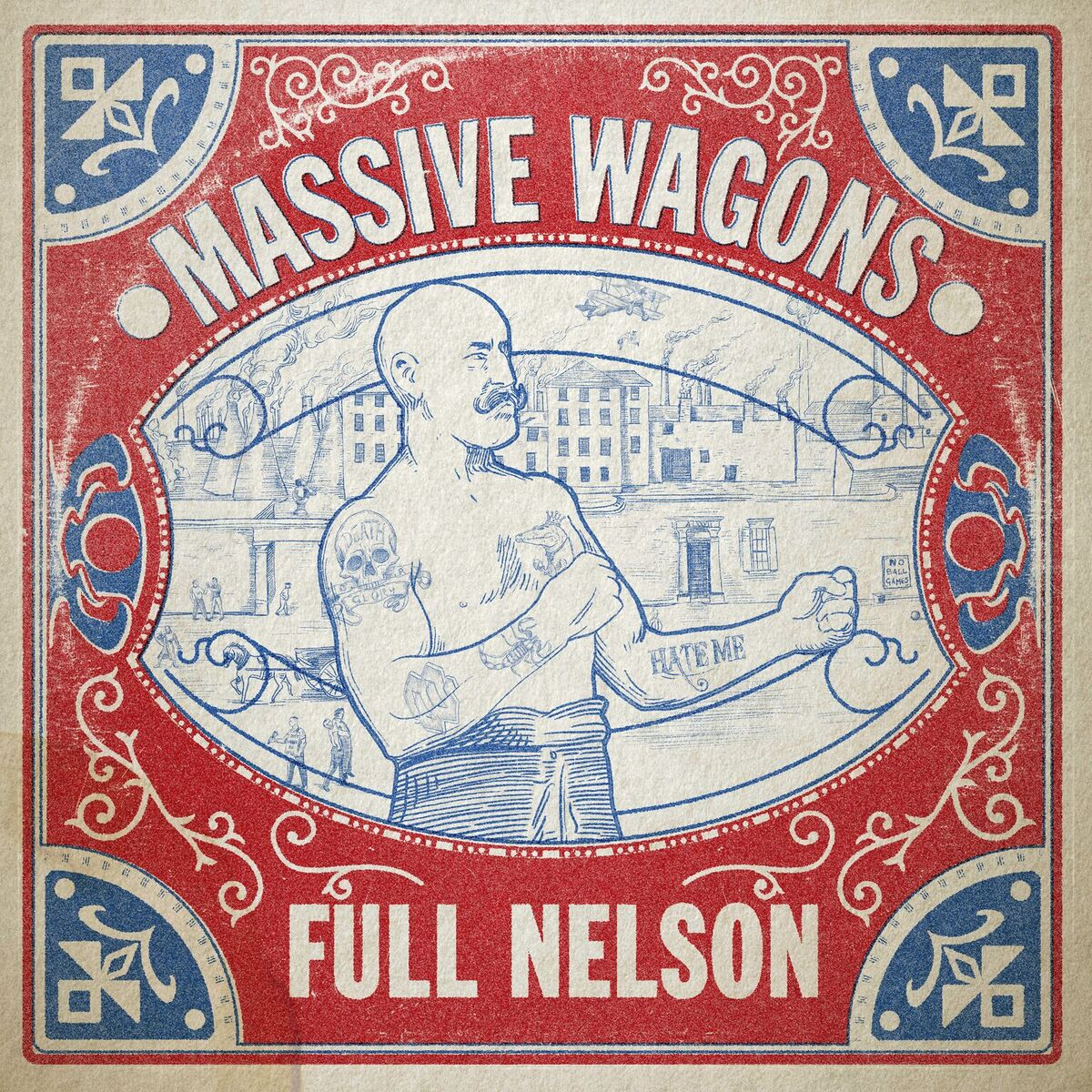 """Massive Wagons – New Album """"Full Nelson"""" #12 In The Mid-Week Charts!"""