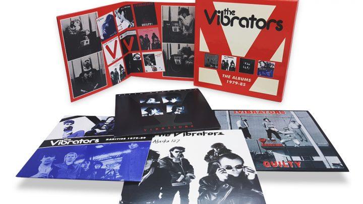 THE VIBRATORS: THE ALBUMS 1979 – 85, 4CD CLAMSHELL BOXSET