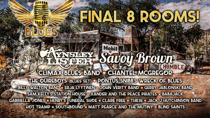 HRH Announce Savoy Brown to Headline the Sunday night at HRH Blues 5