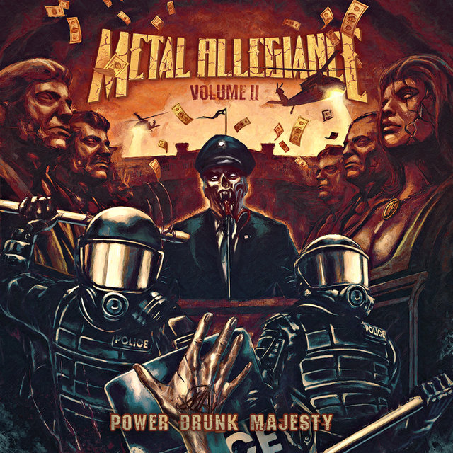 METAL ALLEGIANCE | BAND ANNOUNCE NEW ALBUM VOLUME II – POWER DRUNK MAJESTY + LAUNCH PRE-ORDERS