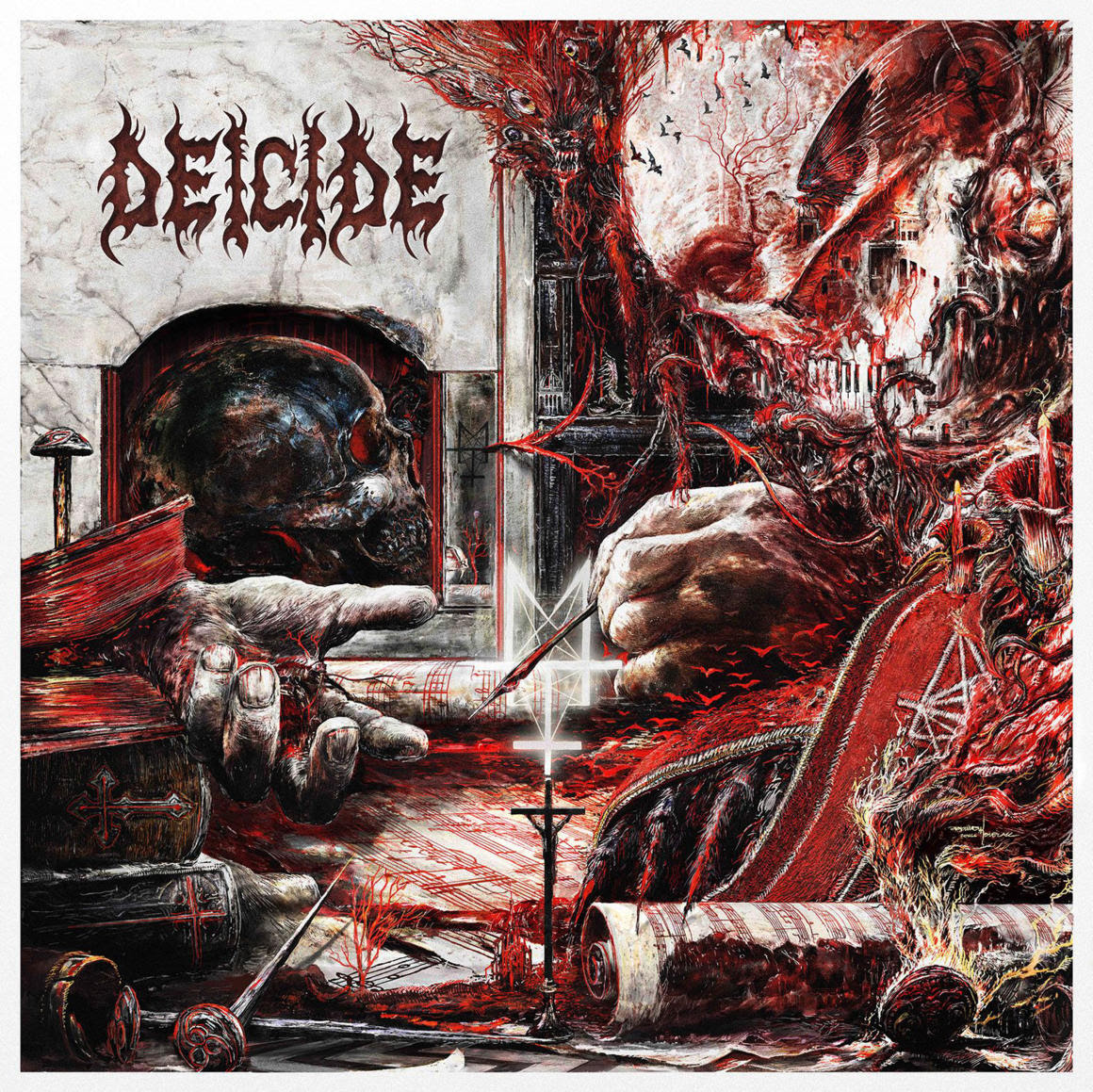 "DEICIDE announce new album ""Overtures Of Blasphemy"" for September release"