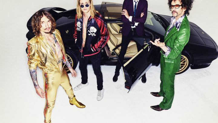 The Darkness release new live track 'Solid Gold'
