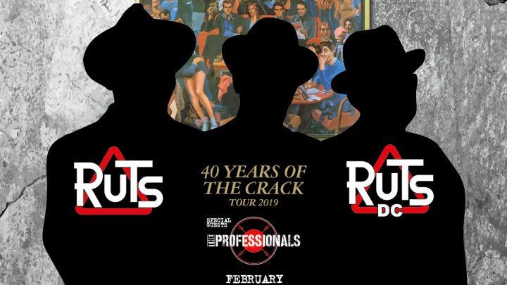 Ruts DC announce 40th anniversary of 'The Crack' tour Feb 2019