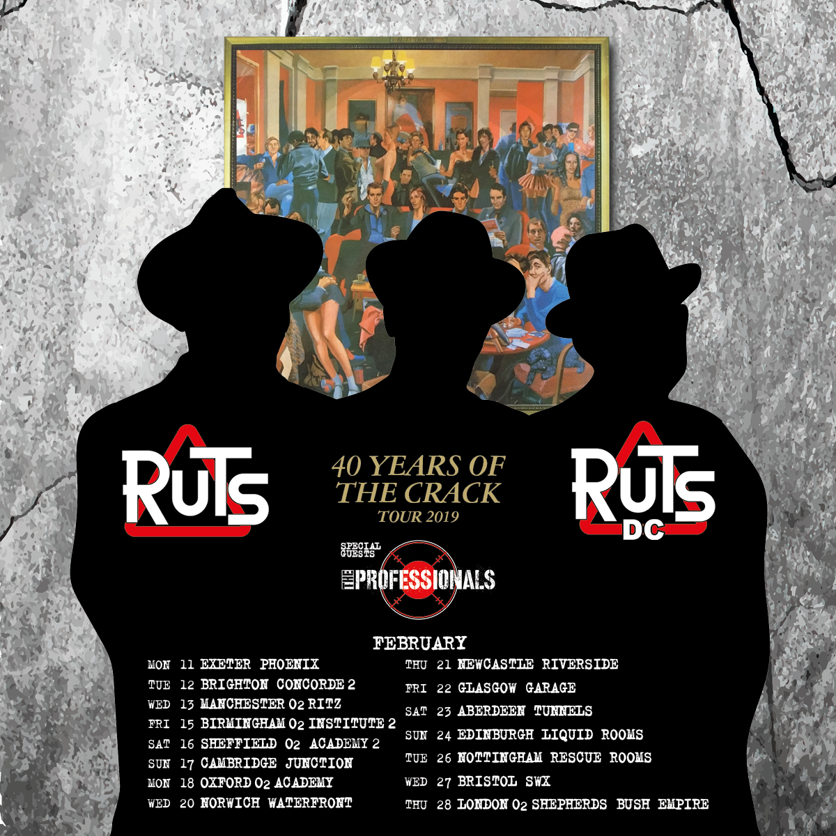 Ruts DC announce 40th anniversary of 'The Crack' tour Feb 2019