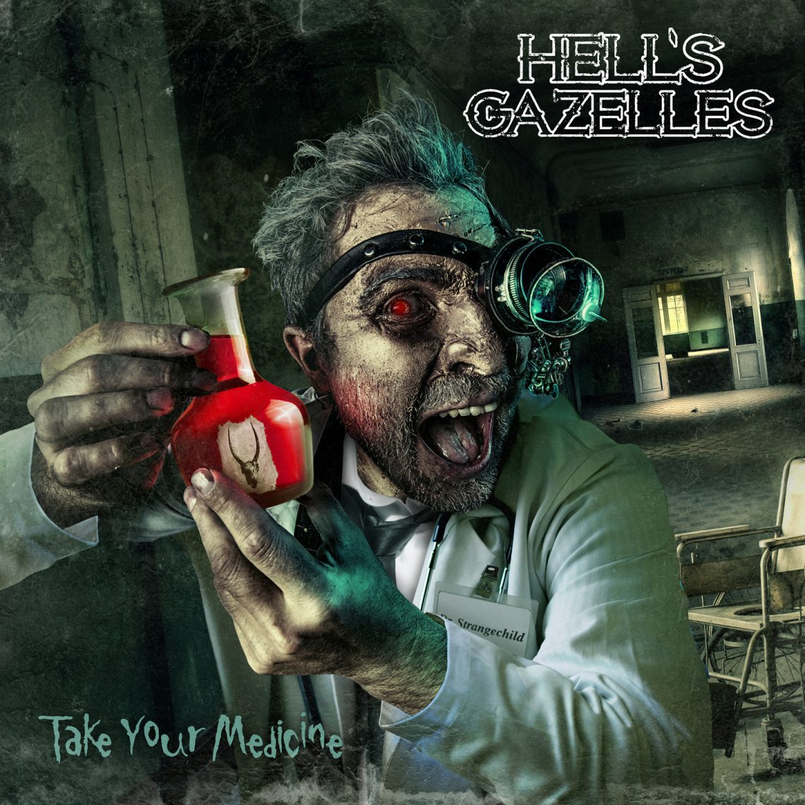 """Hell's Gazelles – """"Take Your Medicine"""" EP"""