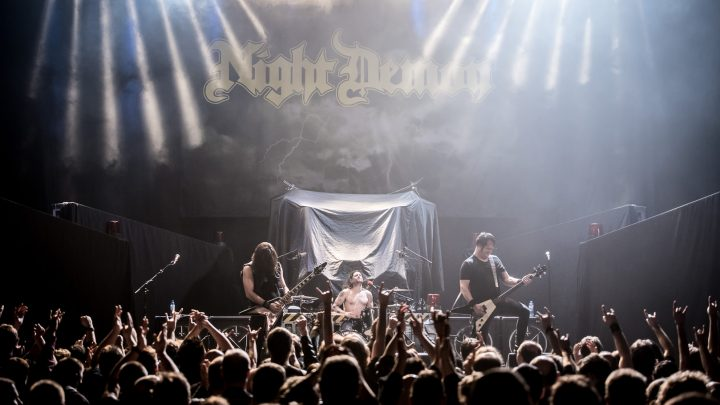 NIGHT DEMON 'LIVE DARKNESS' DOUBLE ALBUM RELEASED AUGUST 10TH