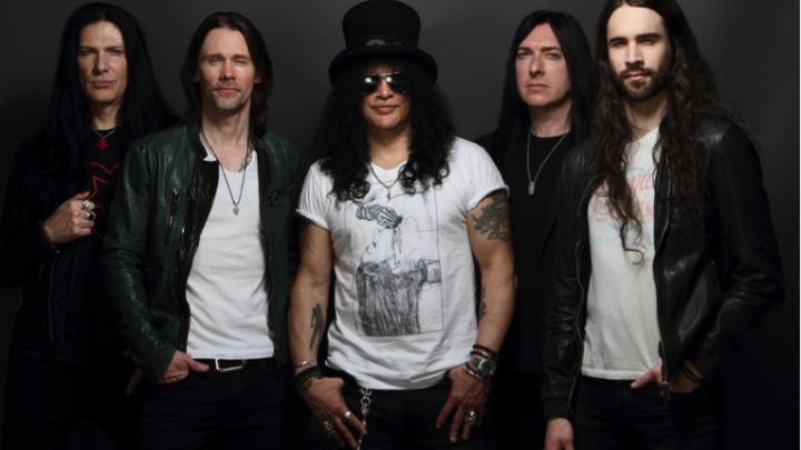 SLASH FT. MYLES KENNEDY & THE CONSPIRATORS NEW ALBUM 'LIVING THE DREAM'