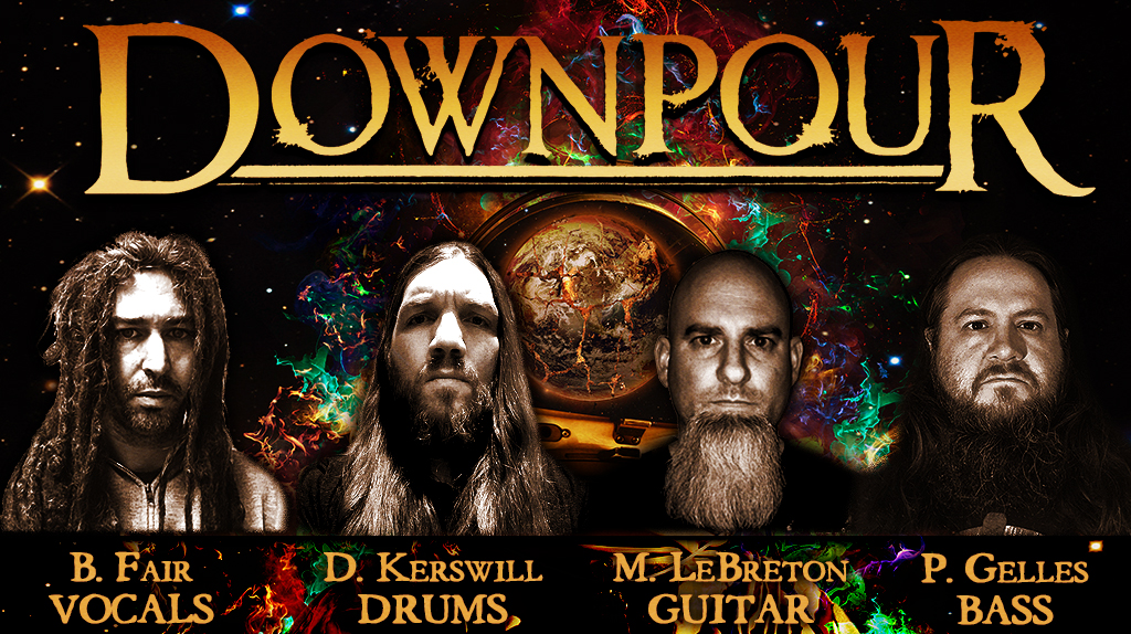 DOWNPOUR – feat. members of SHADOWS FALL & UNEARTH – announce release date for self-titled debut