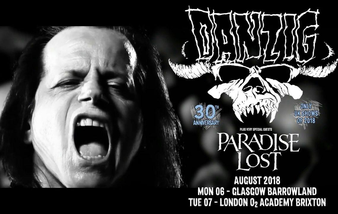 Danzig – Barrowlands – Glasgow 6th August 2018