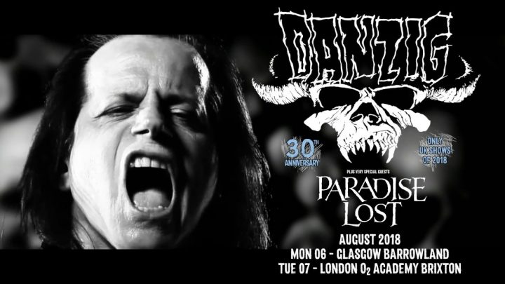 Danzig – Barrowlands – Glasgow 6th August 2018