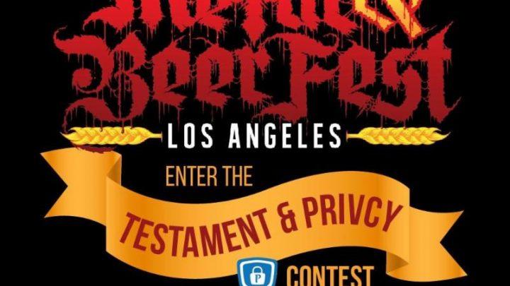 Thrash Legends TESTAMENT and PRiVCY Coin Make Decibel Metal & Beer Fest: Los Angeles Contest First Prize Even Bigger