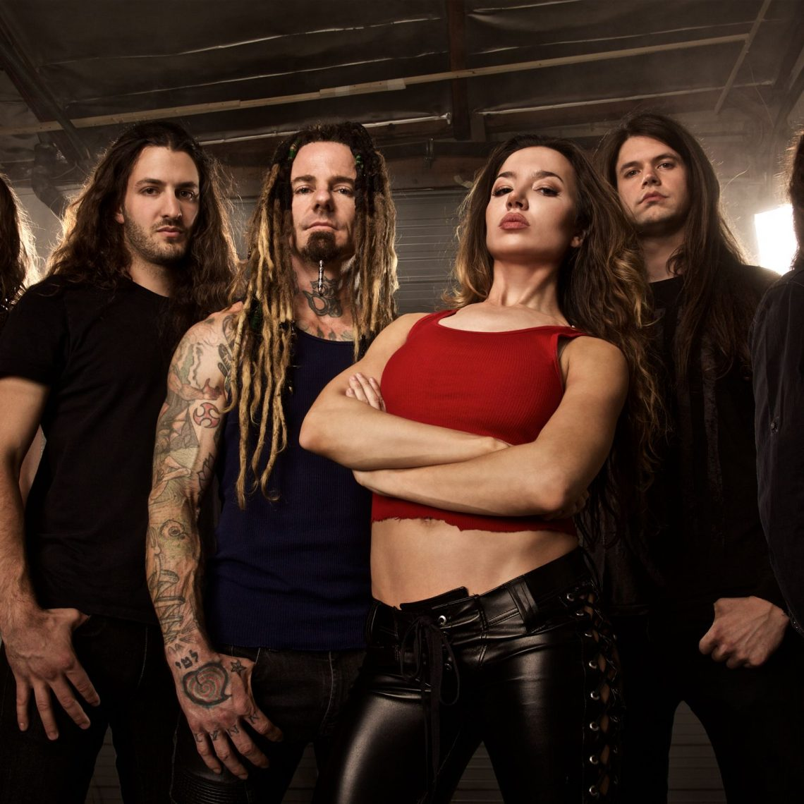 """ONCE HUMAN RELEASE MACHINE HEAD COVER """"DAVIDIAN"""""""