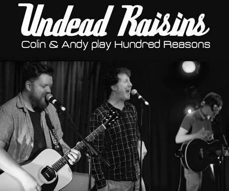Members of Hundred Reasons form new acoustic line up, 'Undead Raisins' and announce exclusive UK Tour