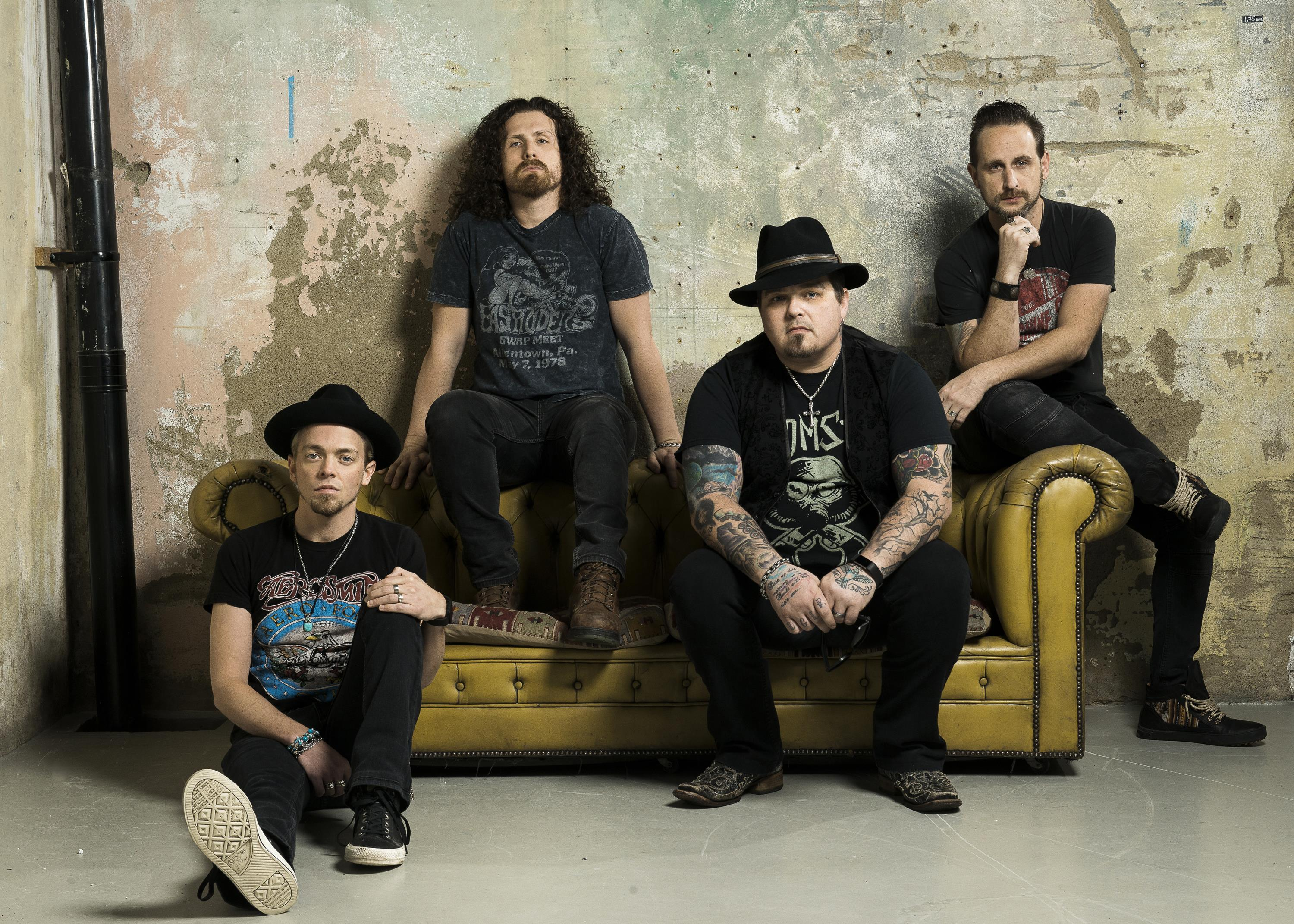 BLACK STONE CHERRY carry on down the road…