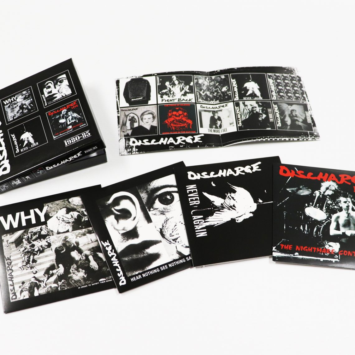 DISCHARGE: 1980-85, 4CD CLAMSHELL BOXSET