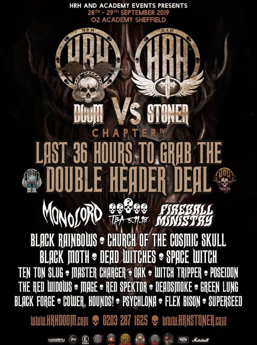 Monolord & Fireball Ministry head up HRH Doom Vs HRH Stoner's 4th cycle