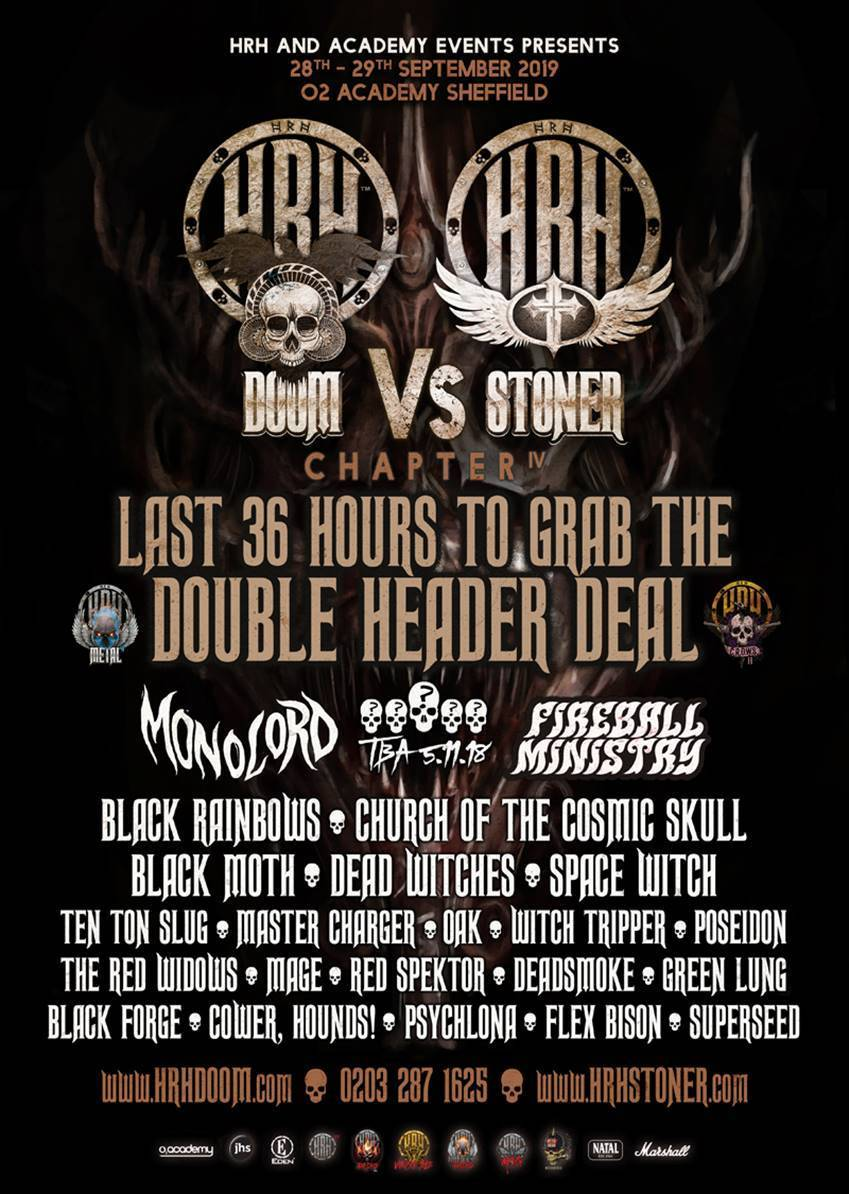 Monolord & Fireball Ministry head up HRH Doom Vs HRH Stoner's 4th cycle